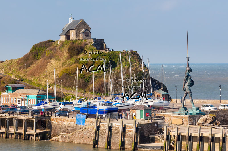 Seaside town of Ilfracombe in North Devon