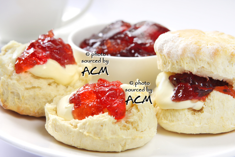 Enjoy a Devon cream tea in one of the many cafes and tearooms